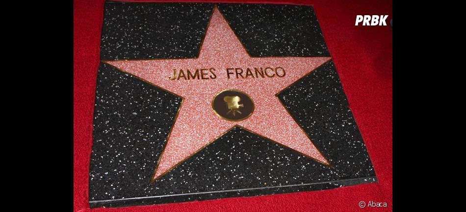 """James Franco est la 2 492ème stars à rejoindre le """"Walk Of Fame"""""""
