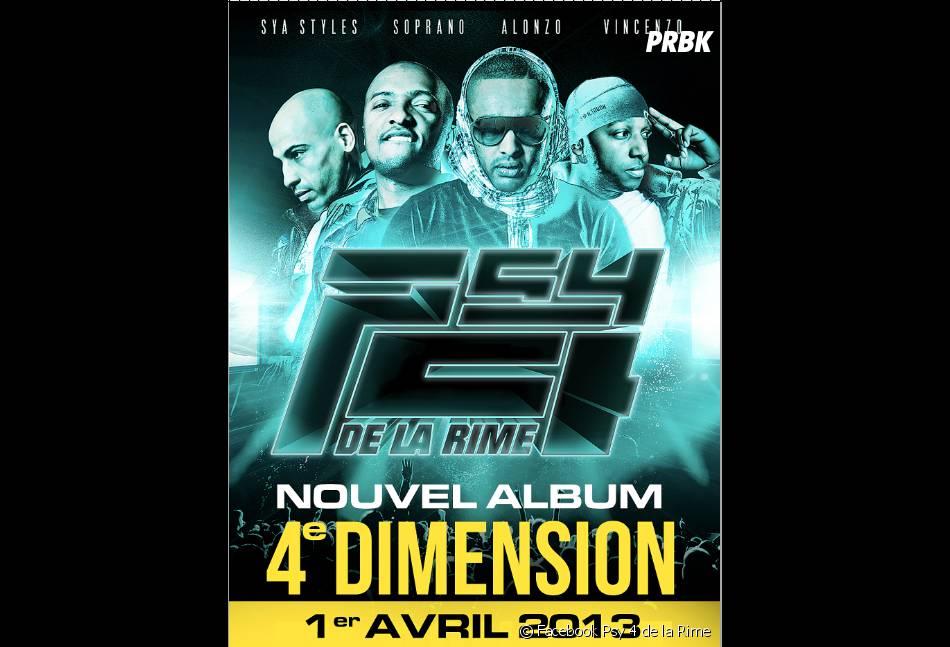 """Le nouvel album """"4e Dimension"""" sortira le 1er avril"""