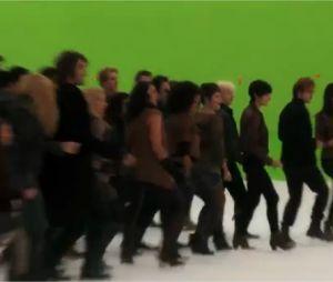 Une chorégraphie pour les acteurs de Twilight 5