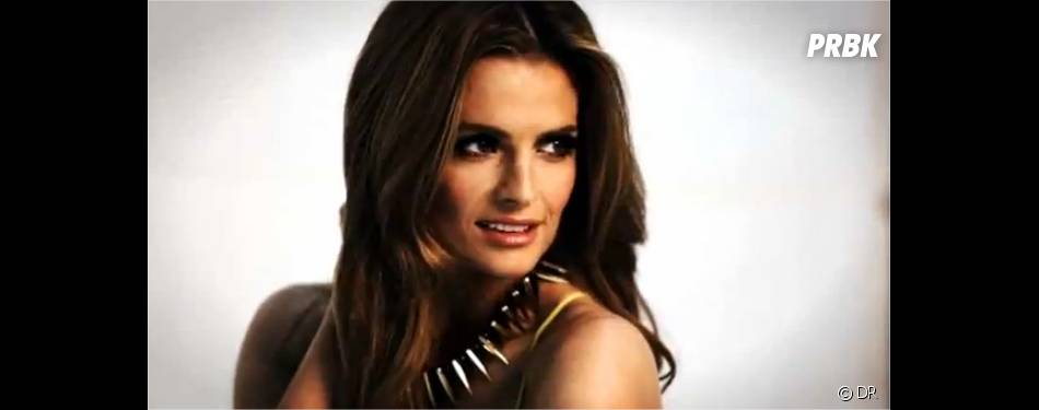 Stana Katic toujours glamour