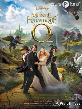 Le Monde Fantastique d'Oz est magique