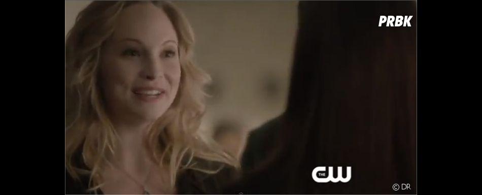 Caroline prête à aider Elena dans Vampire Diaries