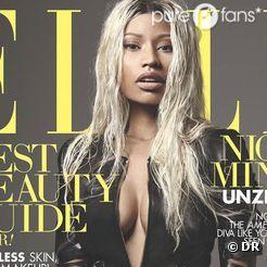 Nicki Minaj, en Une du numéro d'avril 2013 du magazine Elle US