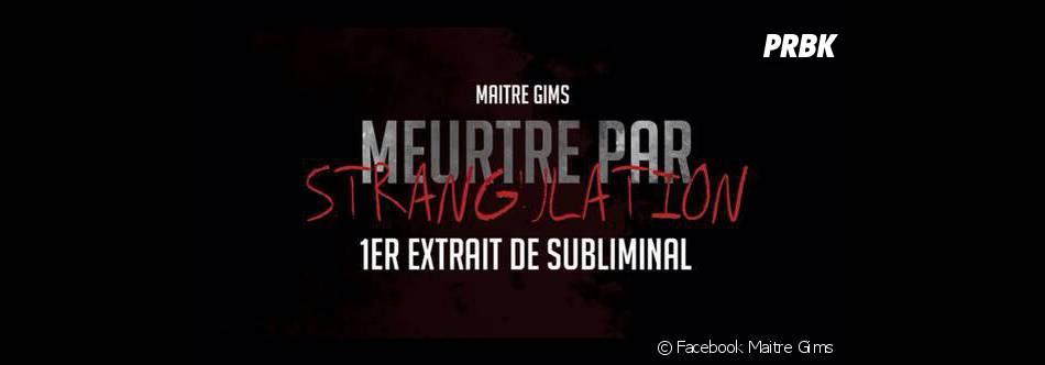 """Après la sortie de son album """"Subliminal"""" en mai 2013, Maitre Gims prévoit de publier son autobiographie"""