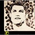 Une peinture de Cristiano Ronaldo bluffante