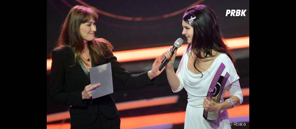 Carla Bruni et Lana Del Rey aux Echo Music Awards à Berlin le 21 mars 2013