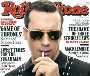 Jon Hamm pousse un coup de guele dans Rolling Stone