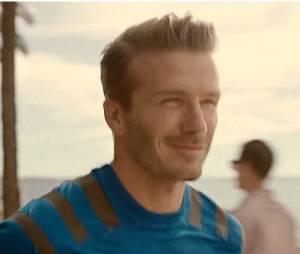 David Beckham court pour Adidas