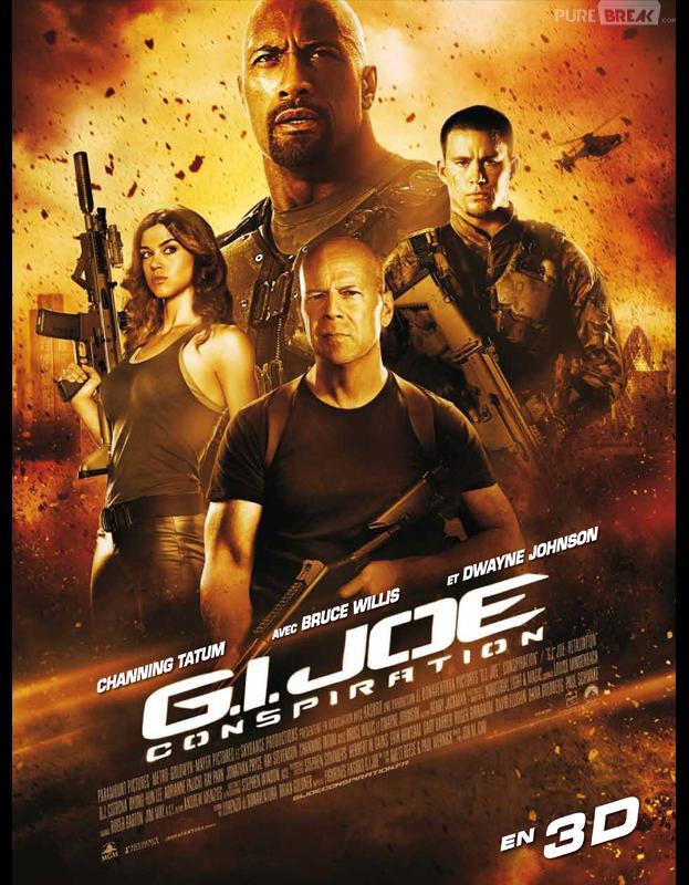 Bruce Willis et GI Joe : Conspiration, en tête du box-office US