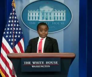 Robby, 9 ans, poisson d'avril de Barack Obama