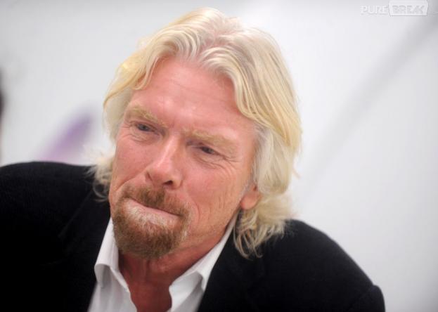 Richard Branson bientôt hôtesse de l'air
