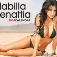 Nabilla (Les Anges 5) : son calendrier 2014 forcément très hot