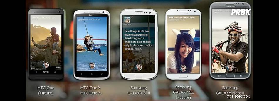 Facebook Home sera disponible sur plusieurs appareils Android