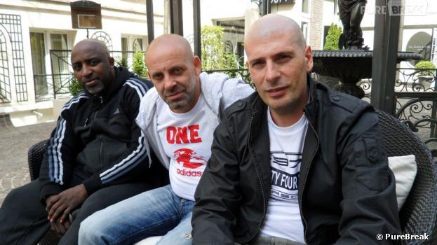 """Kephren, Kheops et Akhenaton, pour la sortie de l'album """"Arts Martiens"""" d'IAM"""