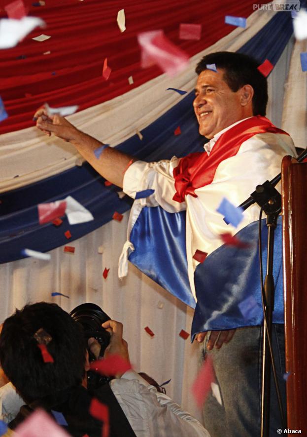 Horacio Cartès a été élu Président du Paraguay