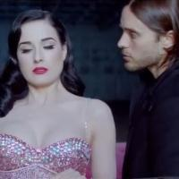 30 Seconds To Mars : Up In The Air, le clip épileptique avec Dita Von Teese