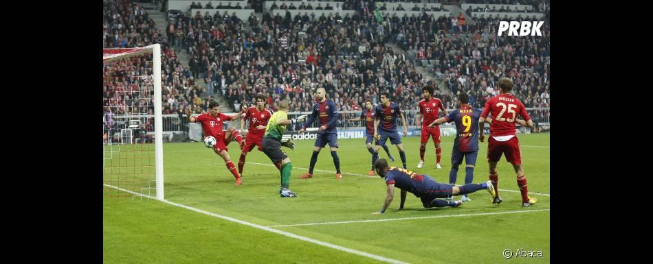 Gérard Piqué et le FC Barcelone ont sombré face au Bayern