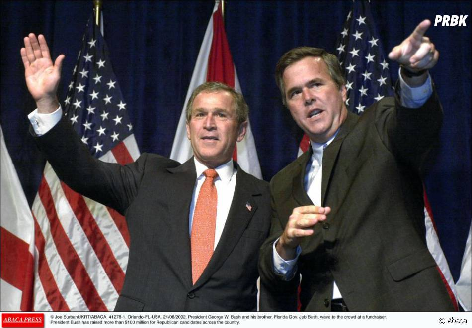 George W. Bush encourage son frère Jeb à se lancer dans la course à la Maison Blanche en 2016