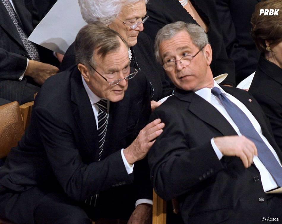 Bush père et fils