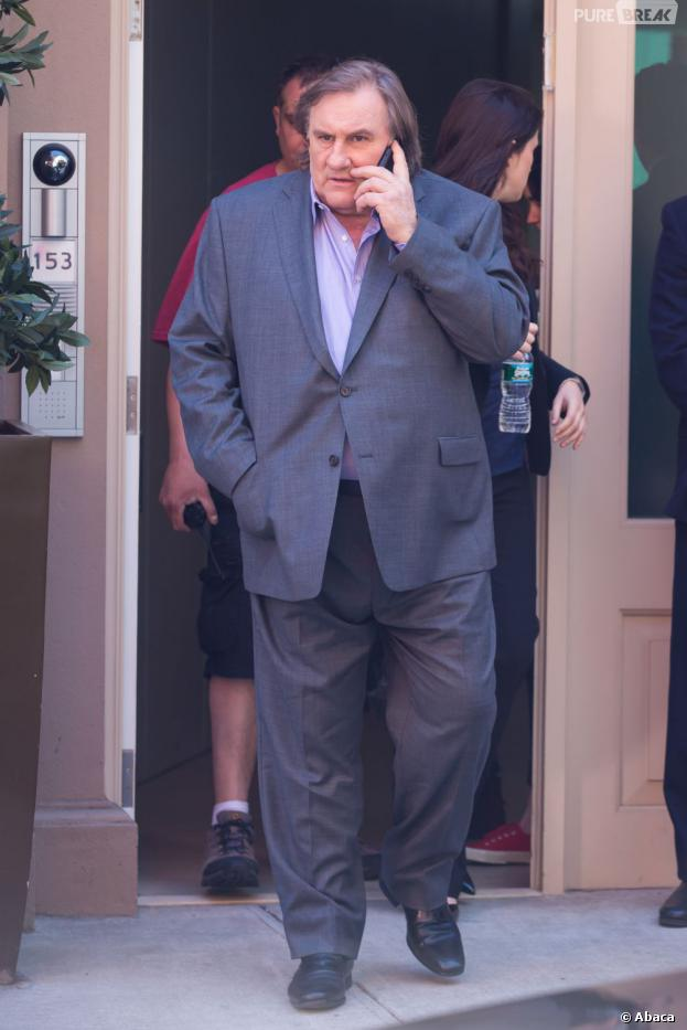 Gérard Depardieu en Dominique Strauss-Kahn dans Welcome to New York