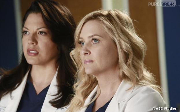 Une discussion dévastatrice entre Callie et Arizona dans le final de Grey's Anatomy