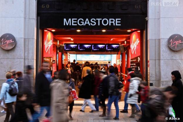 Les magasins Virgin Megastore bradent leurs prix jusqu'au 25 mai