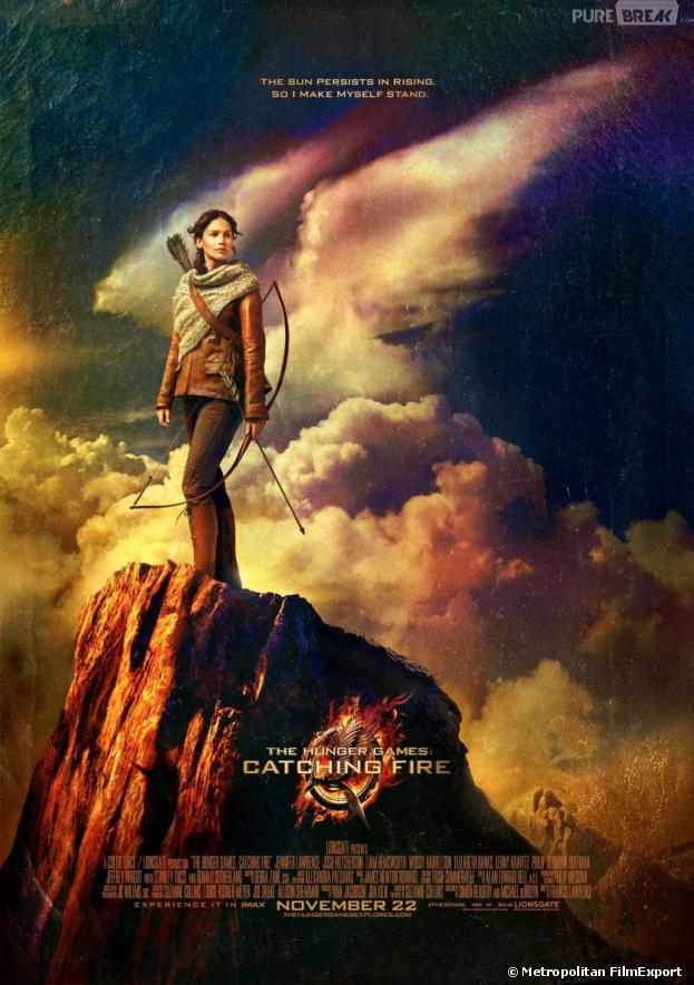 Katniss face aux dangers sur un nouveau poster d'Hunger Games 2