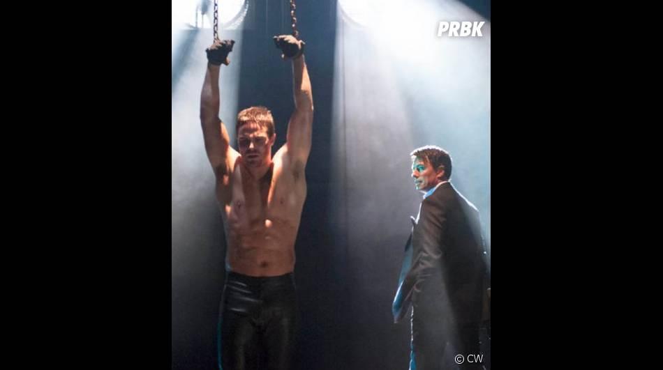 Oliver en mauvaise posture dans Arrow