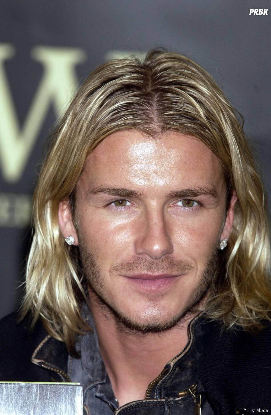David Beckham en 2003, coupe au carré