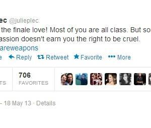 Julie Plec se défend face aux commentaires sur le final de The Vampire Diaries