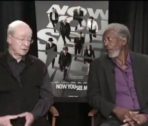 Morgan Freeman, petit somme en pleine interview tv