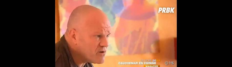 Philippe Etchebest au secours d'un restaurant en faillite dans Cauchemar en cuisine sur M6.