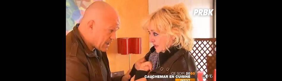 Philippe Etchebest au secours d'Annie dans Cauchemar en cuisine sur M6.