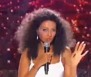 Karine Le Marchand réincarnée en Diana Ross.