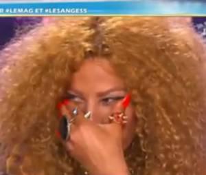 Afida Turner, en larmes sur le plateau du Mag de NRJ 12