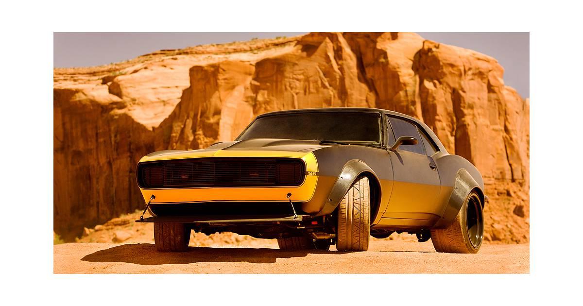 Bumblebee A Le Droit 224 Un Relooking Dans Transformers 4 Avec Une Camaro Ss De 1967 Purebreak