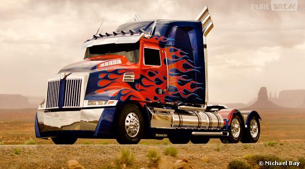 Optimus Prime change de look dans Transformers 4