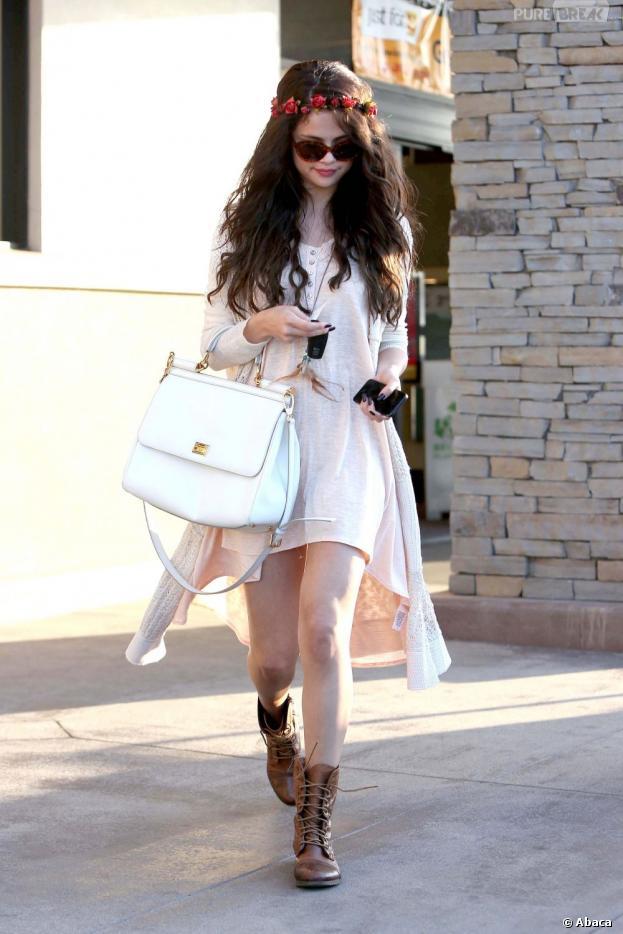 Selena Gomez, chic et bohème à L.A le 14 juin 2013