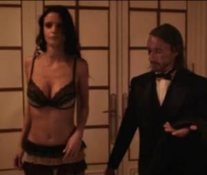 """Bob Sinclar en acteur dans un court-métrage gore et hot intitulé """"Absorption by Guet apens""""."""