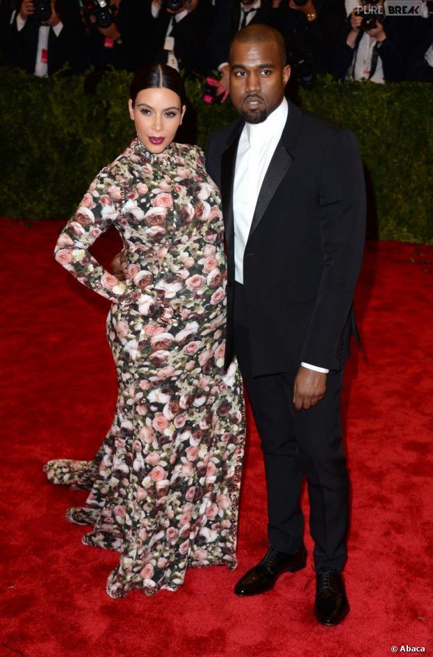 Kim Kardashian et Kanye West : le prénom de leur fille dévoilé ?