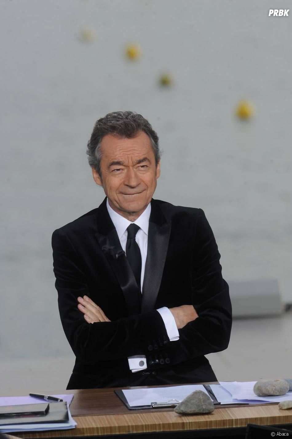 Michel Denisot anime sa dernière semaine de présentateur du Grand Journal de Canal +