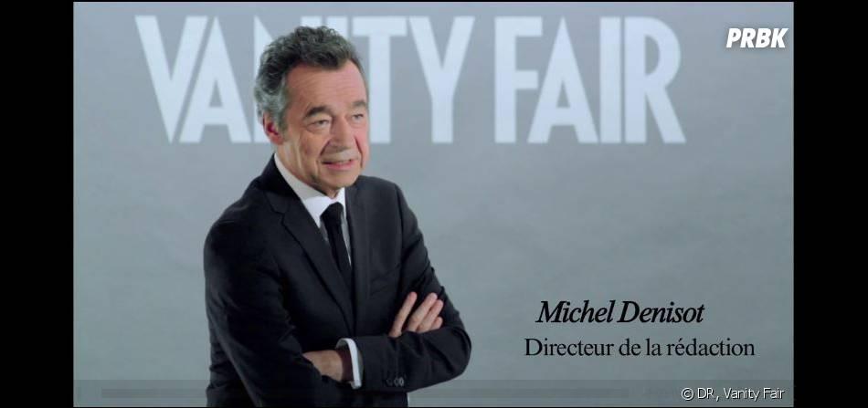 Michel Denisot est le nouveau directeur de la rédaction du Vanity Fair français