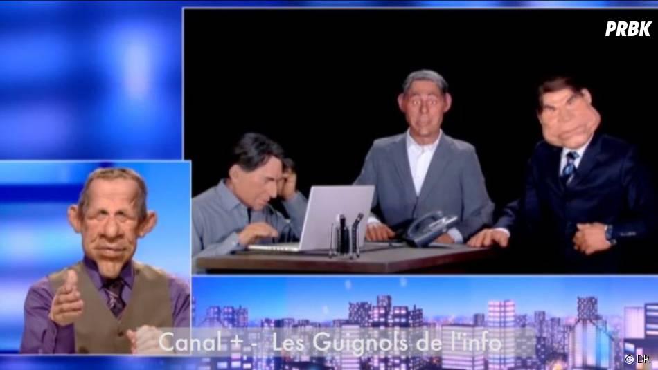 Les Guignols parodient l'affaire Tapie sur Canal +