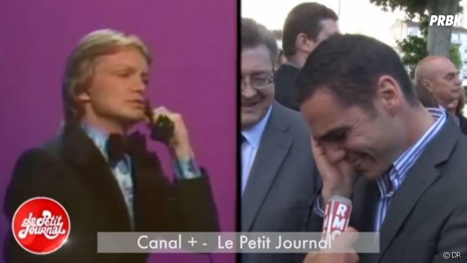 Etienne Bousquet-Cassagne au téléphone avec Claude François pour le Petit Journal