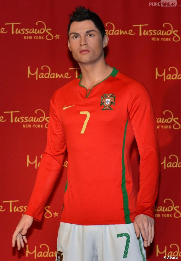 Cristiano Ronaldo : sa statue de cire au Tussauds de New York
