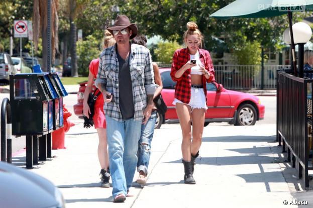 Miley Cyrus en guerre contre son papa Billy Ray Cyrus
