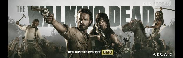 The Walking Dead saison 4 : une première bannière promo