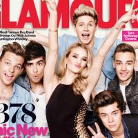 One Direction : Rosie Huntington-Whiteley, nouvelle membre sexy du groupe pour Glamour US