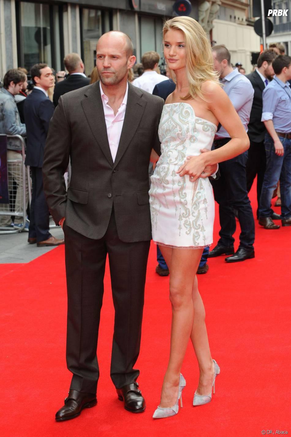 Rosie Huntingdon-Whiteley est en couple avec l'acteur Jason Statham
