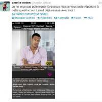 """Amélie Neten enfonce Senna Hounhanou : """"Il avait déjà essayé avec moi !"""""""